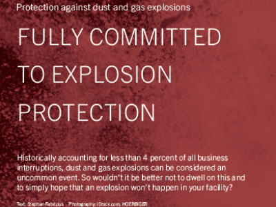 Fully Committed To Explosion Protection
